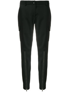 зауженные брюки карго  Moschino