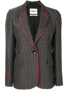 patterned blazer Essentiel Antwerp