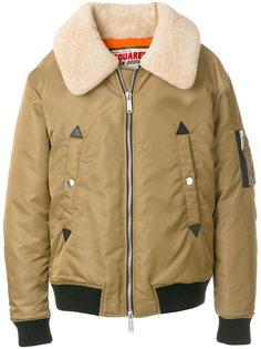 куртка бомбер с воротником Dsquared2