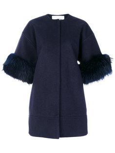 приталенное пальто  Ava Adore