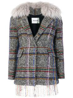 куртка с вышивкой в клетку  Ava Adore