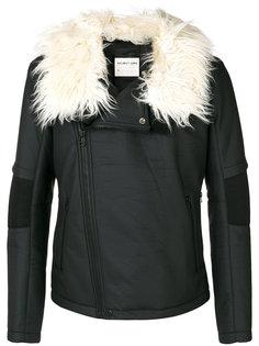 байкерская куртка Helmut Lang