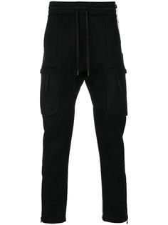 спортивные брюки с боковыми карманами Helmut Lang