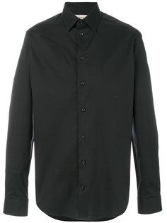 классическая рубашка узкого кроя Armani Collezioni