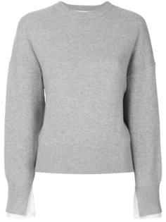 свитер с заниженной линией плеч  Enföld