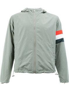 куртка на молнии с капюшоном Thom Browne