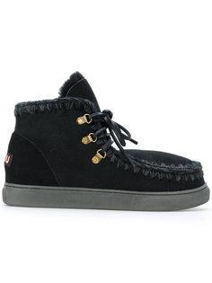 ботинки на шнуровке Mou