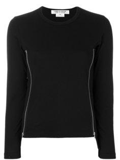 свитер с длинными рукавами и молниями  Comme Des Garçons