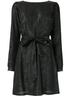 платье металлик с бантом  Michael Michael Kors