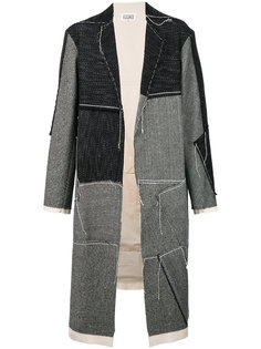 лоскутное пальто свободного кроя Maison Margiela