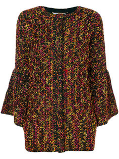 однобортное пальто  Blumarine