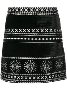 printed mini skirt Dodo Bar Or