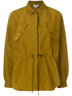 куртка-рубашка с баской  Kenzo
