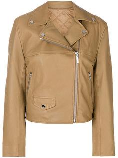 укороченная байкерская куртка  Helmut Lang