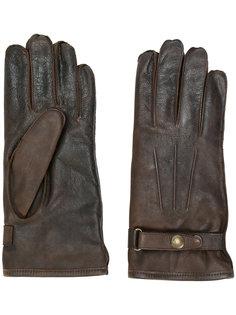 перчатки с пряжками Belstaff