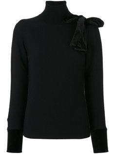пуловер с бантом  Emporio Armani