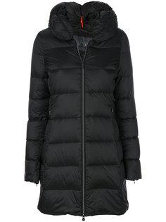 дутое длинное пальто  Rrd