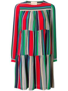 полосатое платье Erika Cavallini