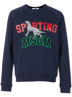 sporting sweatshirt MSGM