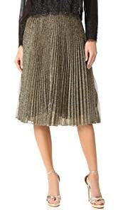 Loyd/Ford Metallic Pleat Skirt