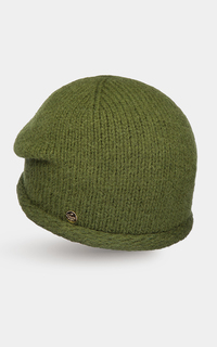Зеленая шапка Canoe
