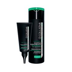 COLLISTAR Восстанавливающий шампунь + скраб Rebalancing Anti-Dundruff Scrub+shampoo 200 мл + 75 мл