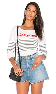 Пуловер с длинным рукавом champagne - Chaser