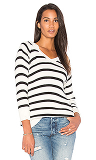 Пуловер в рубчик с капюшоном - Chaser