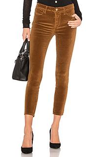 Бархатные джинсы скинни le high - FRAME Denim