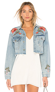 Укороченная джинсовая куртка eve - GRLFRND