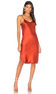 Шелковое платье-комбинация - KENDALL + KYLIE