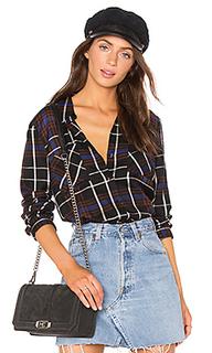 Рубашка с контрастом сзади denise - LAGENCE