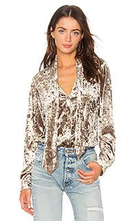 Блуза с завязкой на линии шеи giesle - LAGENCE