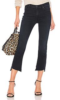 Укороченные расклёшенные джинсы insider crop two step fray - MOTHER