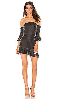 Платье со спущенными плечами adelita - NBD