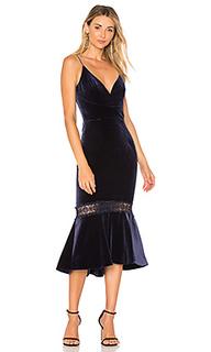 Бархатное платье - NICHOLAS