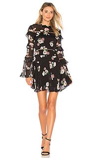 Платье со сборками rose - NICHOLAS