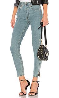 Укороченные джинсы originals high rise - RE/DONE