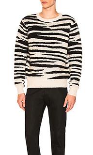 Свитер zebra mohair - Stussy