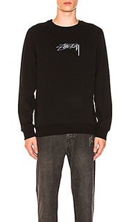 Лодочки smooth stock applique - Stussy