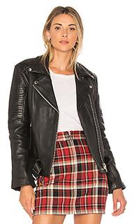 Кожаная байкерская куртка sweet paradise - Understated Leather