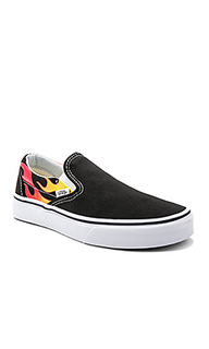 Кроссовки slip-on flames - Vans