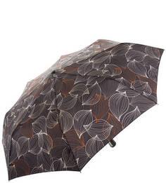 Серый зонт с куполом из полиэстера Doppler