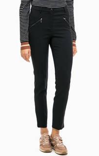 Черные зауженные брюки More & More