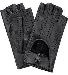 Автомобильные кожаные перчатки с перфорацией Bartoc
