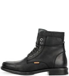 Кожаные ботинки на молнии и шнуровке Levis®