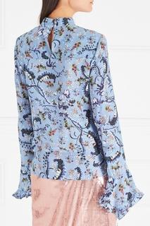 Шелковая блузка Lindsey Erdem