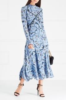 Шелковое платье Cordelia Erdem