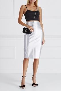 Атласный топ T Skirt