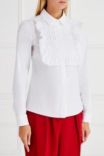 Хлопковая блузка RED Valentino